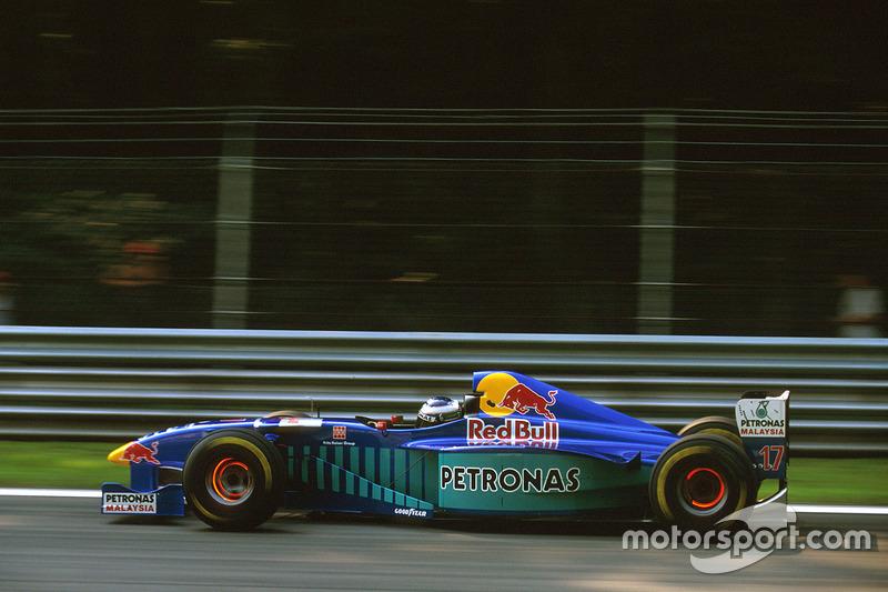 #17: Gianni Morbidelli, Sauber C16