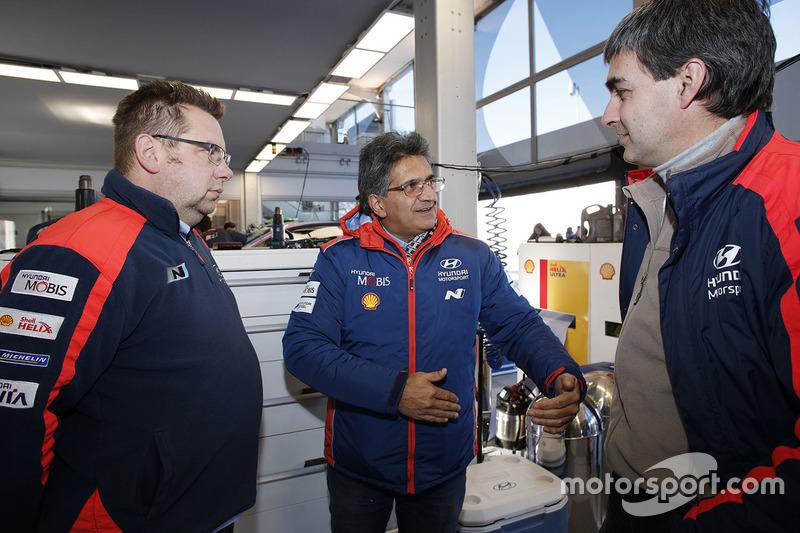 Michel Nandan, director del Hyundai Motorsport Team