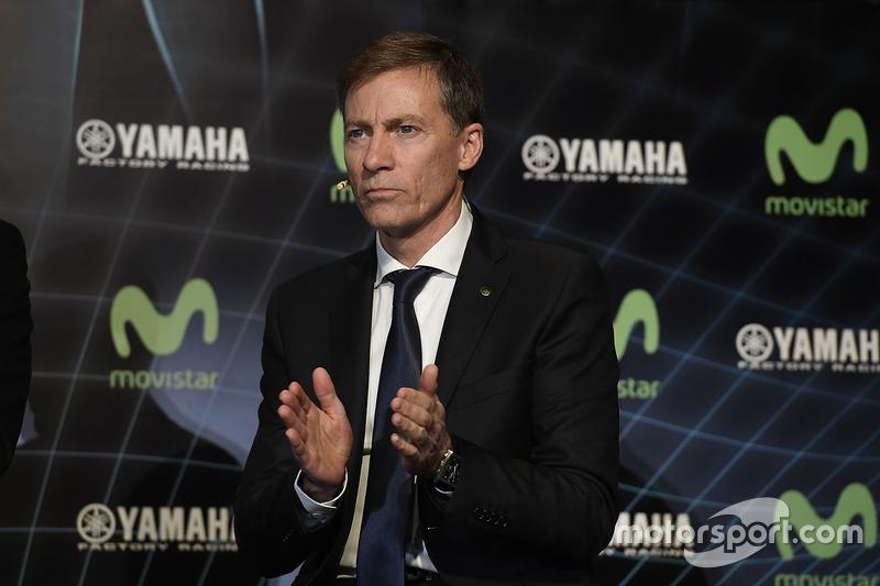 Lin Jarvis, Yamaha Factory Racing Director General