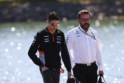 Esteban Ocon, Force India, Gwen Lagrue