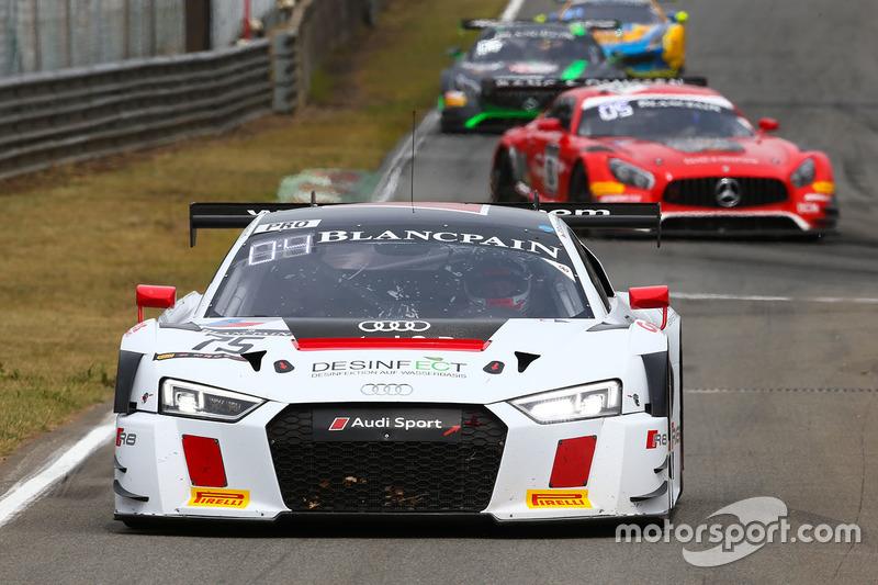 #75 ISR, Audi R8 LMS: Clemens Schmid, Filip Salaquarda