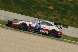 #1 Hofor-Racing, Mercedes AMG GT3: Michael Kroll, Chantal Kroll, Roland Eggimann, Kenneth Heyer, Christiaan Frankenhout
