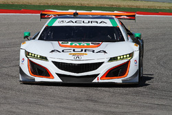#93 Michael Shank Racing, Acura NSX: Andy Lally, Katherine Legge
