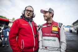 Mike Rockenfeller, Audi Sport Team Phoenix, Audi RS 5 DTM, mit Laurent Fedacou