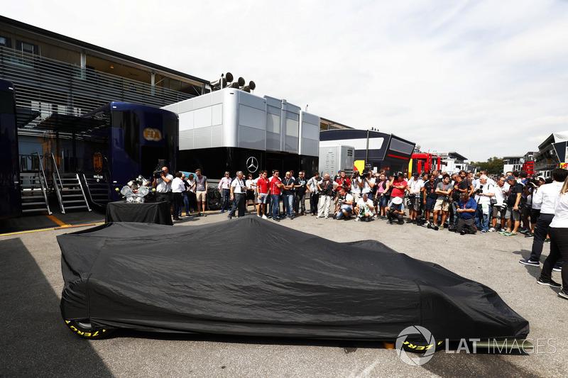 La nouvelle F2 prête à être dévoilée dans le paddock