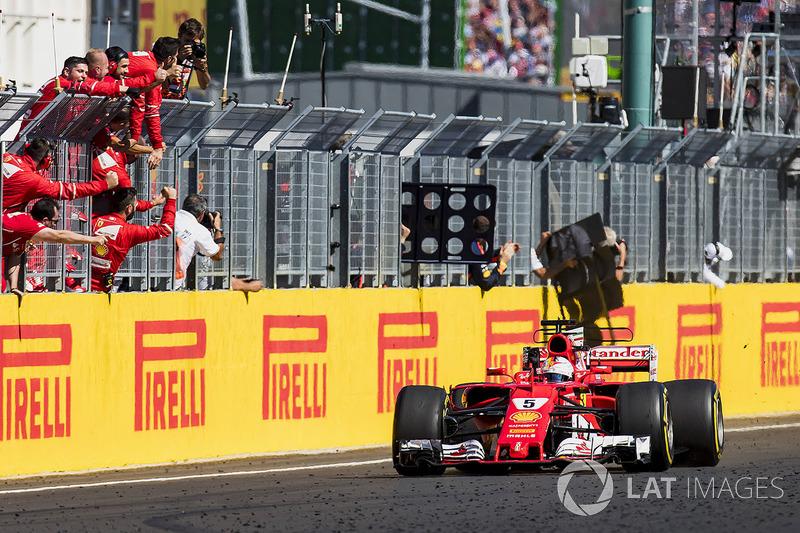 Sebastian Vettel - 7 galibiyet