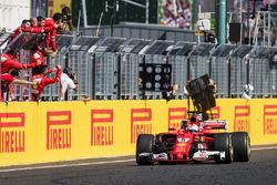 Sieg für Sebastian Vettel, Ferrari SF70H