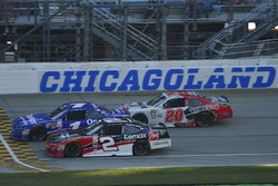 Elliott Sadler, JR Motorsports Chevrolet, Austin Dillon, Richard Childress Racing Chevrolet, Erik Jones, Joe Gibbs Racing Toyota