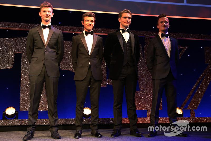 McLaren Autosport Award, participantes