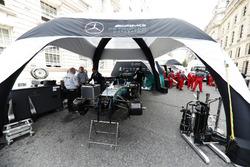 Mercedes bereitet sich vor
