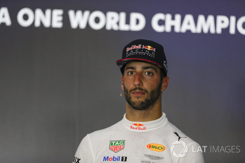 Press conference: third place Daniel Ricciardo, Red Bull Racing