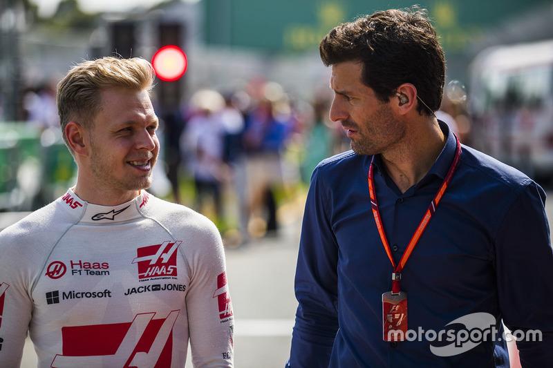 Kevin Magnussen, Haas F1 Team, Mark Webber