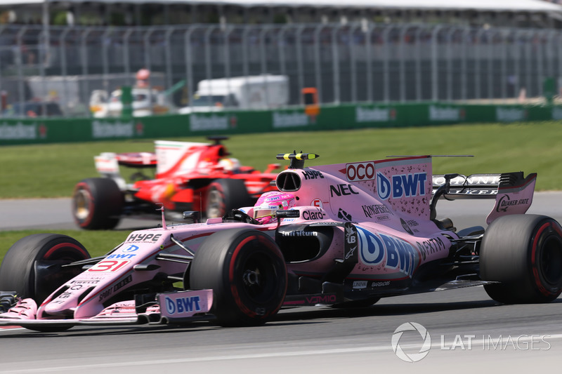 6e : Esteban Ocon (Force India)