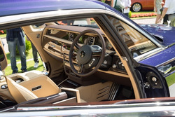 Rolls Royce Sweptail, interno