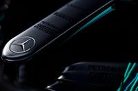 Mercedes AMG F1 W08 Hybrid burun detayı