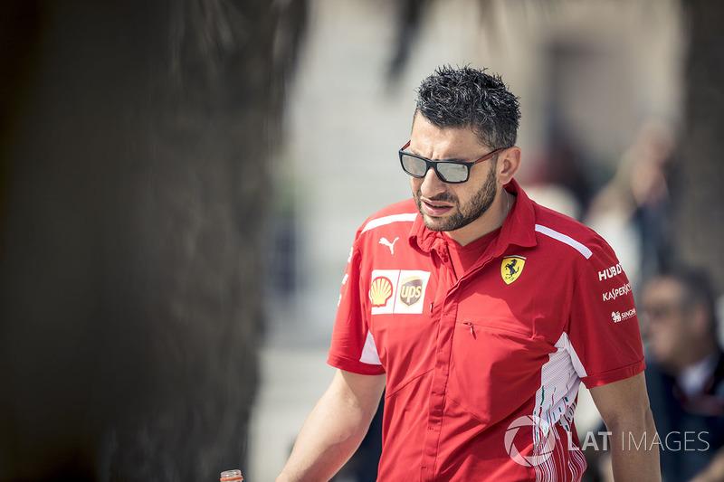 Fabrizio Filardo, Ferrari mechanic
