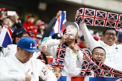 Apoyo para Lewis Hamilton, Mercedes AMG F1
