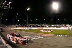 Christopher Bell, Joe Gibbs Racing, Toyota takes the win