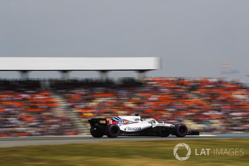 DNF: Lance Stroll, Williams FW41