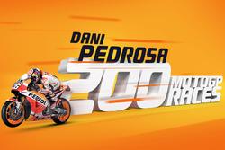 Dani Pedrosa 200 carreras en MotoGP