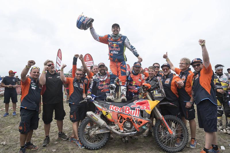 Pemenang kategori motor, Matthias Walkner, Red Bull KTM Factory Team