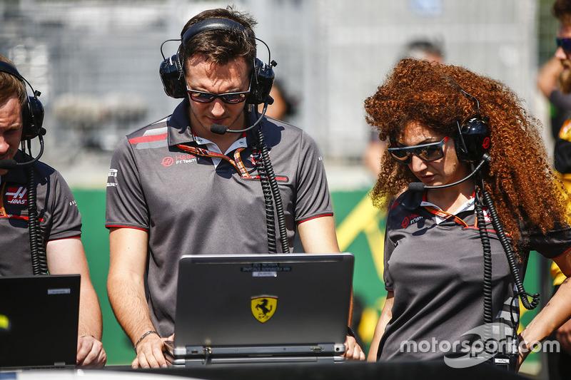 Инженеры Haas F1 Team
