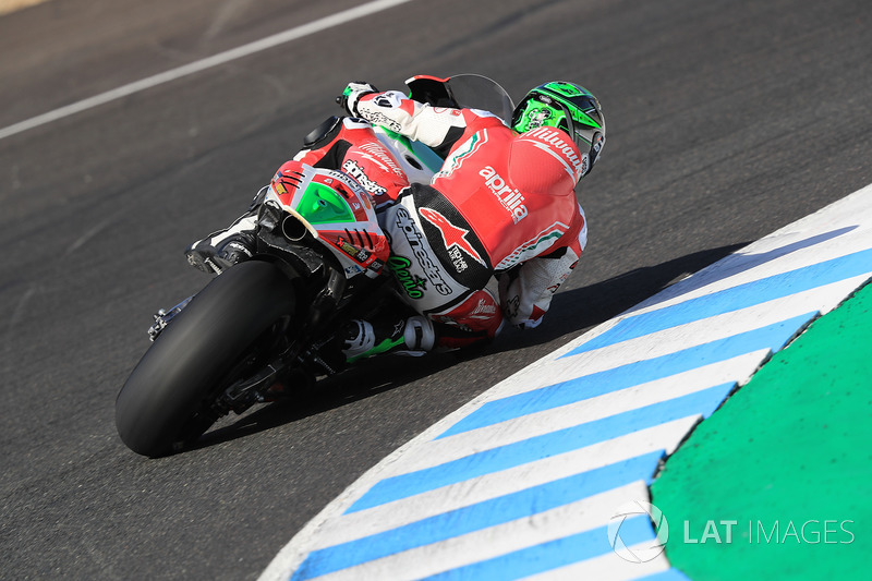 Eugene Laverty, Aprilia Racing Team Gresini