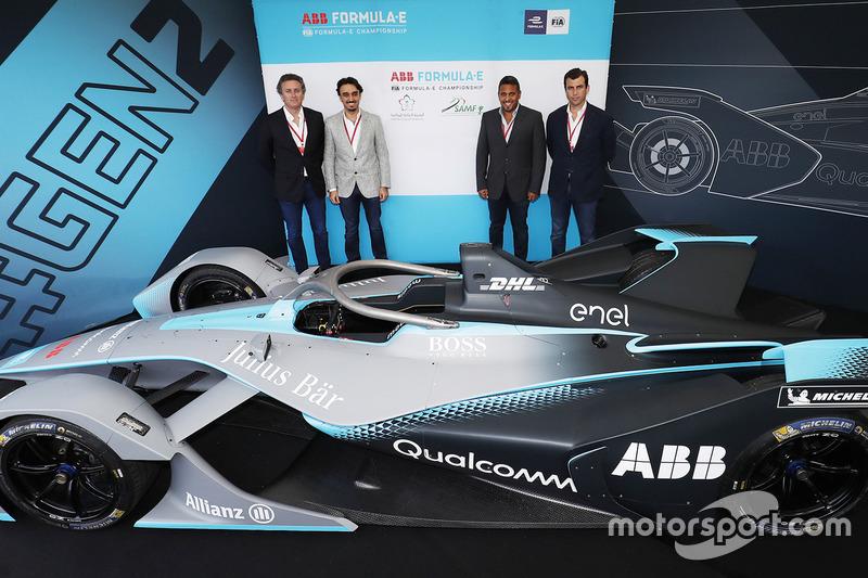 Peluncuran generasi terbaru mobil Formula E