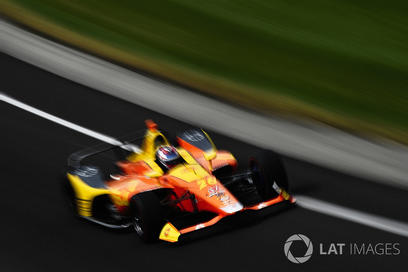 25°: Zach Veach, Andretti Autosport Honda