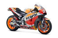 Bike of Marc Marquez, Repsol Honda Team