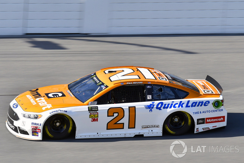 16. Пол Менар, No. 21 Wood Brothers Racing Ford Fusion