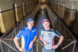 Jack Miller, Estrella Galicia 0,0 Marc VDS, Alex Rins, Team Suzuki MotoGP bezoekt Old Melbourne Gaol