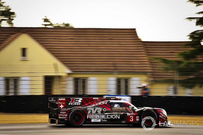 5: #3 Rebellion Racing Rebellion R-13: Mathias Beche, Gustavo Menezes, Thomas Laurent, 3'19.945
