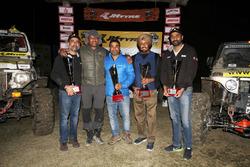 Winners Gurmeet Singh Virdi, Kirpal Singh Tung, Kabir Waraich and Yuvraj Tiwana