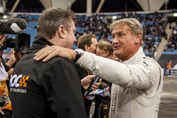 David Coulthard y David Croft
