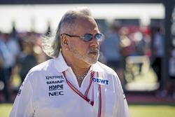 Dr. Vijay Mallya, propietario del equipo de Force India Formula One