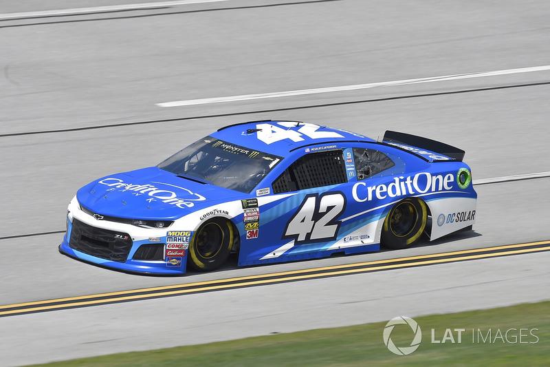 22. Kyle Larson, Chip Ganassi Racing, Chevrolet Camaro Credit One Bank