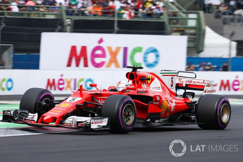 18. GP de México 2017: Sebastian Vettel (4º)