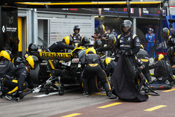 Пит-стоп: Нико Хюлькенберг, Renault Sport F1 Team RS18