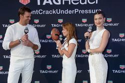 Tom Brady, Geri Halliwell Horner and Bella Hadid