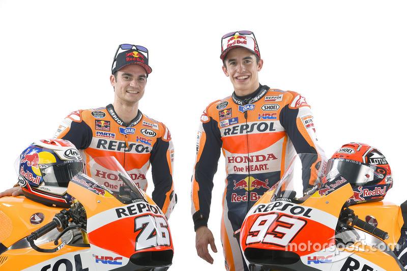 Dani Pedrosa, Repsol Honda Team und Marc Marquez, Repsol Honda Team