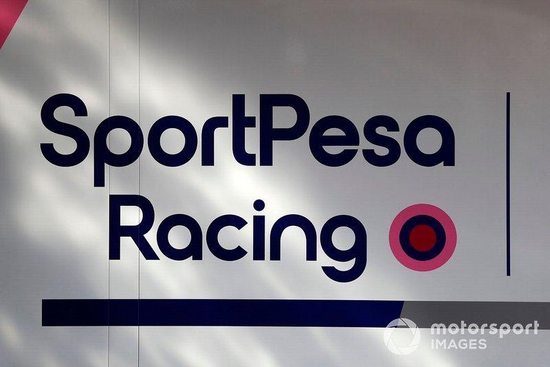 Le logo de Racing Point F1 Team