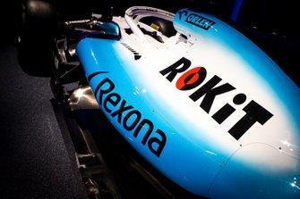 Williams FW42 Rokit logo detail