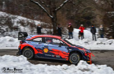 Test WRC di gennaio