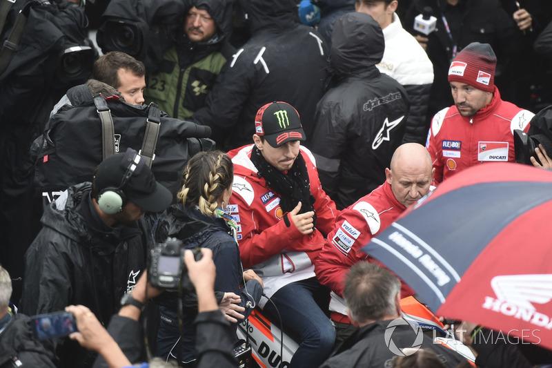 Хорхе Лоренсо, Ducati Team, після засідання Комісії з безпеки