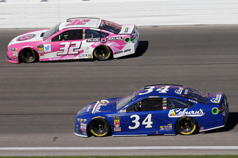 Michael McDowell, Front Row Motorsports, Ford Fusion Coburn Supply Company and Matt DiBenedetto, Go FAS Racing, Ford Fusion Plan B Sales