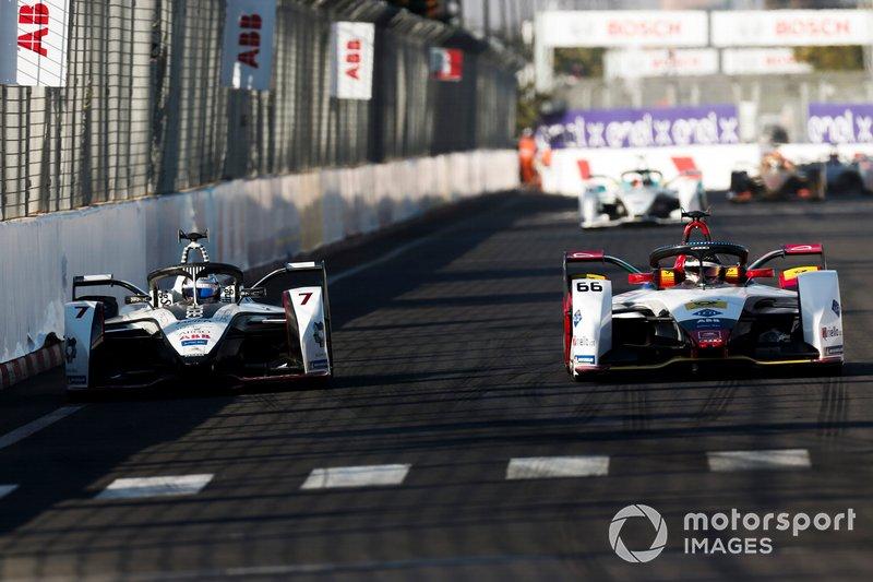 Daniel Abt, Audi Sport ABT Schaeffler, Audi e-tron FE05, battles with Jose Maria Lopez, GEOX Dragon Racing, Penske EV-3