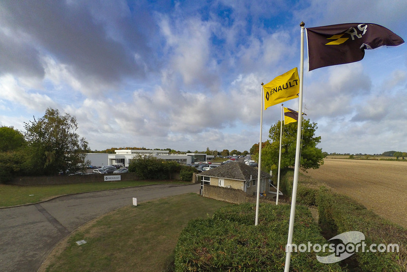 Werksbesuch bei Renault in Enstone