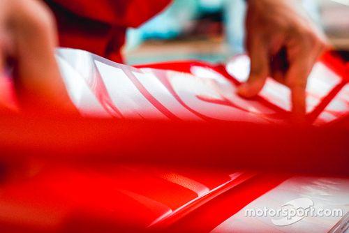 Тизер новой ливреи Ferrari Philip Morris