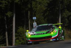 Georg Weiss, Oliver Kainz, Jochen Krumbach, Rinaldi Racing, Ferrari 488 GT3